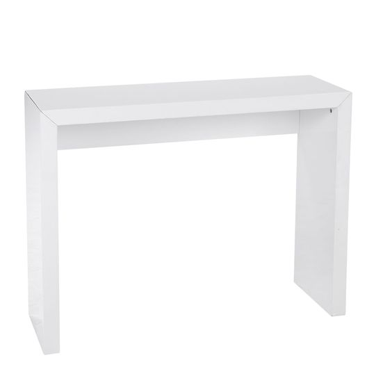 Maison euro and tables on pinterest - Console d entree blanche ...