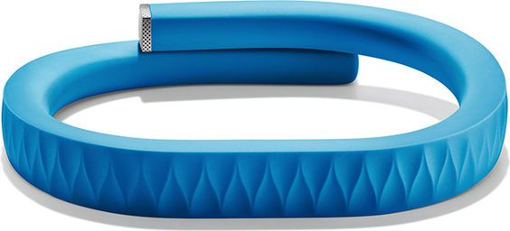 The Jawbone Up ($99) makes it easy to track your everyday routine to work toward a healthier you. More than just a pedometer, this electronic wristband tracks your movements, sleep patterns, and eating habits, then syncs all the collected data with Jawbone's UP app on your smartphone.