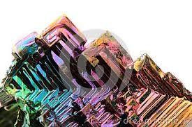El bismuto y su superficie iridiscente - Buscar con Google