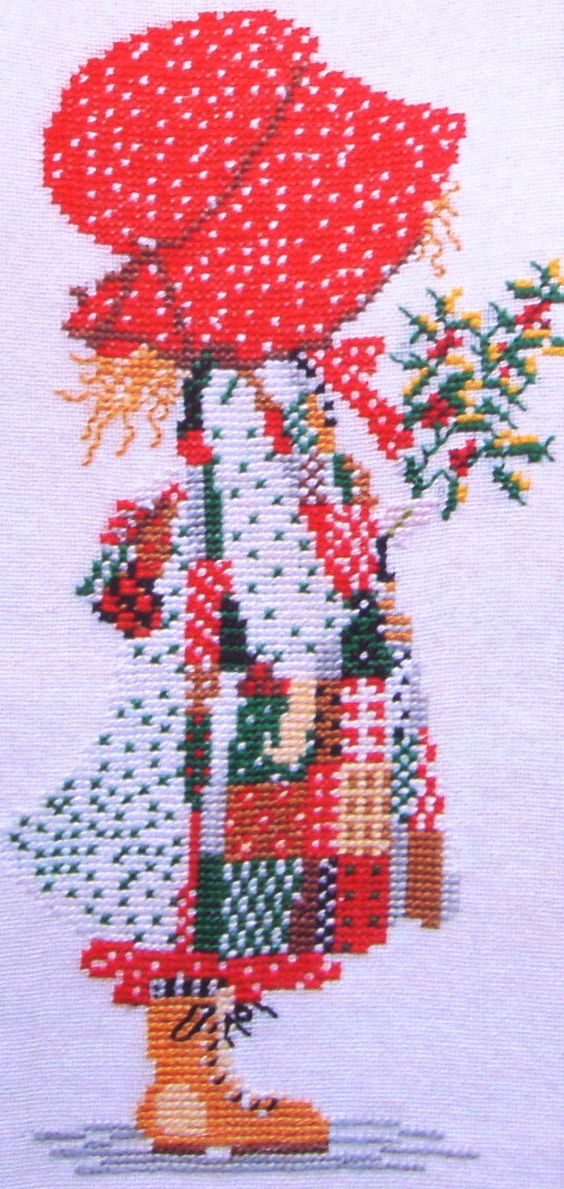 Holly Hobbie Embroidery Designs