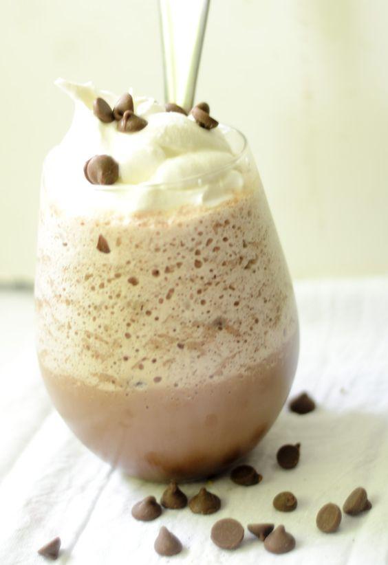 Skinny Frozen Hot Chocolate – Recipe Diaries