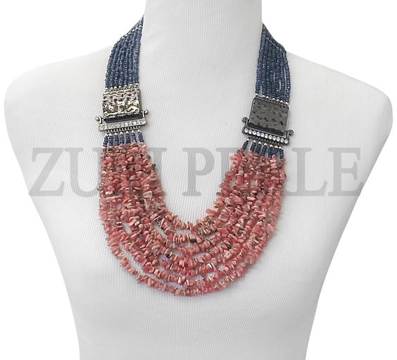 Zuri Perle - ZPP400 - Handmade Rhodochrosite Beads African Wedding Necklace , $220.00 (http://www.zuriperle.com/new-arrivals/zpp400-handmade-rhodochrosite-beads-african-wedding-necklace.html)  #zuriperle #zuriperlejewelry #madeintheusa #handmadejewelry #instafashion #instajewelry #womenfashion #jewelry #jewelryaddict #fashion