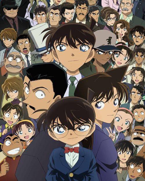 For More Creative Follow Byvid المحقق كونان هي سلسلة مانغا للكاتب غوشو أوياما حولت إلى مسلسل أنمي وحلقات أوفا وأفلام أنمي وألعاب فيديو Anime Art Inspiration
