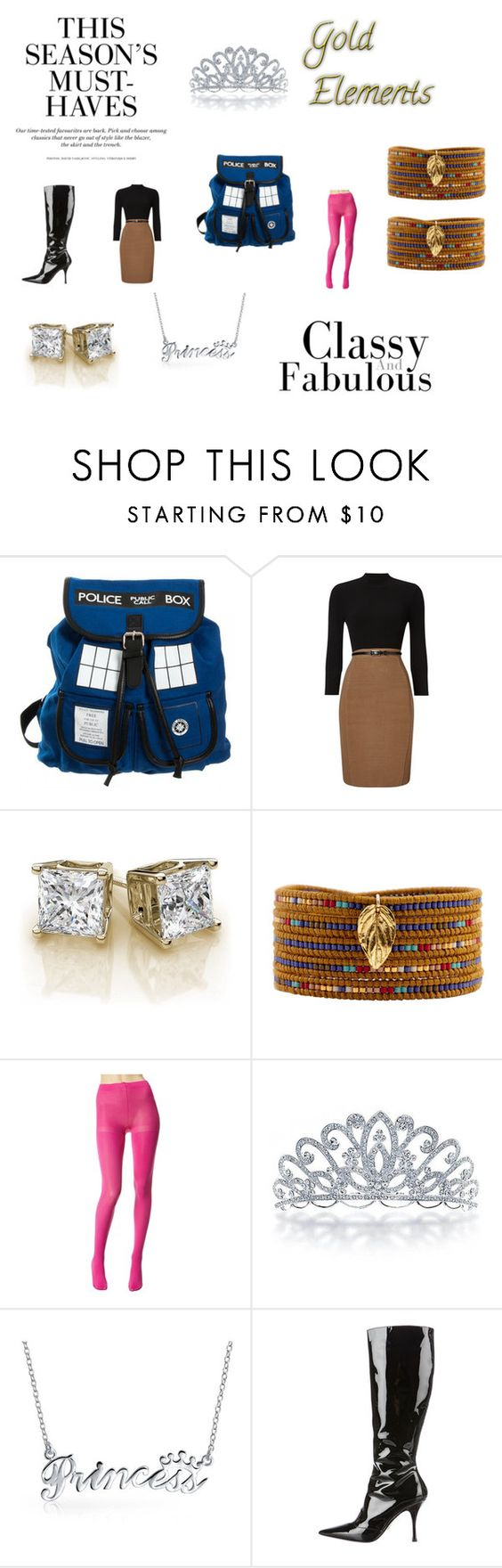 """""""Dress me like the TARDIS 6"""" by chrisone ❤ liked on Polyvore featuring Phase Eight, Chan Luu, H&M, Betsey Johnson, Bling Jewelry and Dolce&Gabbana"""