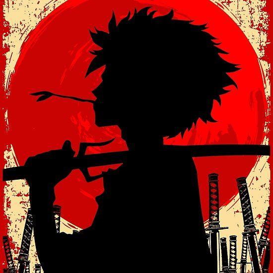Samurai Sunset Mugen Samurai Champloo Samurai Wallpaper Samurai Art