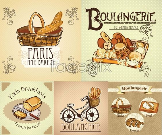 bread illustration vector