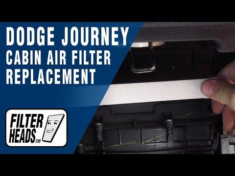 How To Replace Cabin Air Filter 2012 Dodge Journey Cabin Air Filter Dodge Journey 2012 Dodge Journey