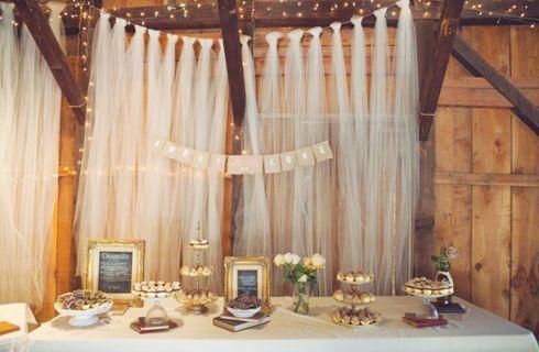 Addobbi matrimonio con tulle, idee e spunti www.donnaclick.it - Donnaclick