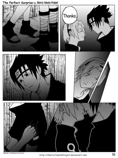 Sasusaku doujinshi - the perfect surprise 16