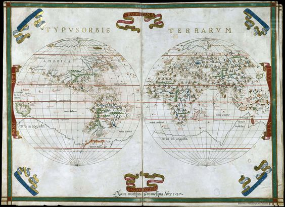 Atlas de Joan Martines, 1578 | por Biblioteca Nacional de España