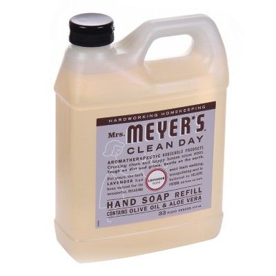 Mrs Meyer S Lavender Liquid Hand Soap Refill 33 Fl Oz Liquid