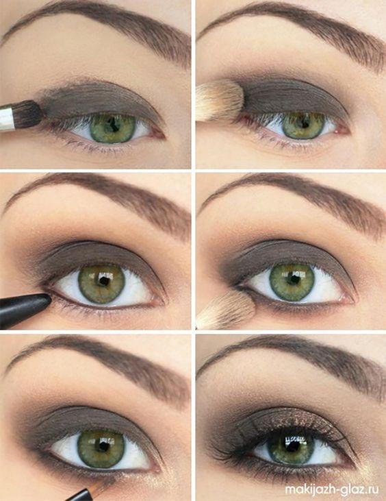 8 maquillages pour les yeux verts, vus sur Pinterest - Coup de Pouce