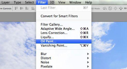Photoshop CS6 Oil Paint Filter Tutorial