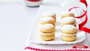 Vanilla Bean Melting Moments - Queen Vanilla -www.queen.com.au