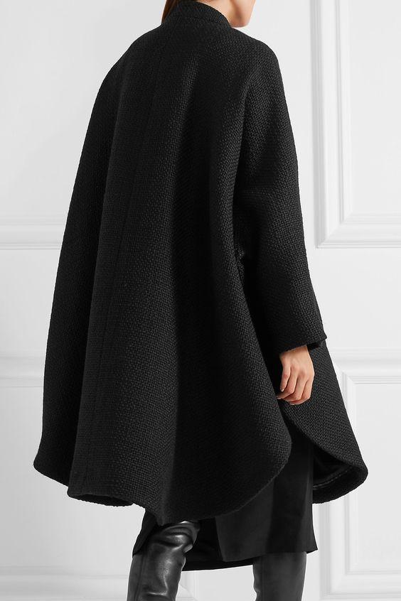 TOM FORD   Wool-blend tweed cape   NET-A-PORTER.COM