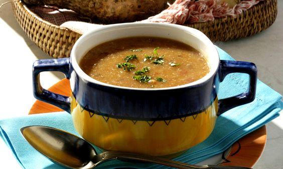 Sopa de Cará