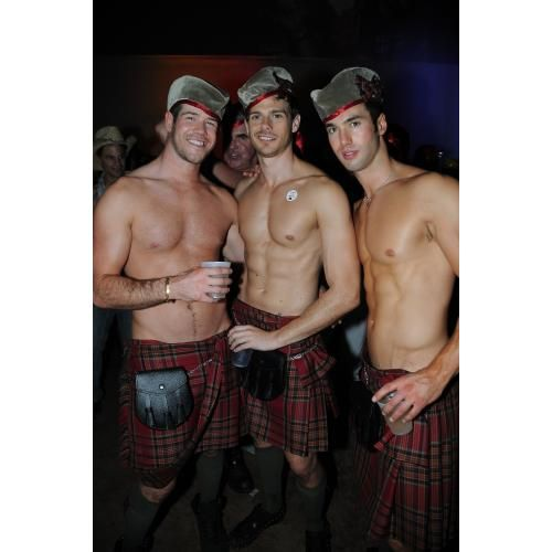 bourbon pub parade new orleans louisiana usa i would trade some beads to see up these kilts halloween party tonight at the largest gay - New Orleans Halloween Parties