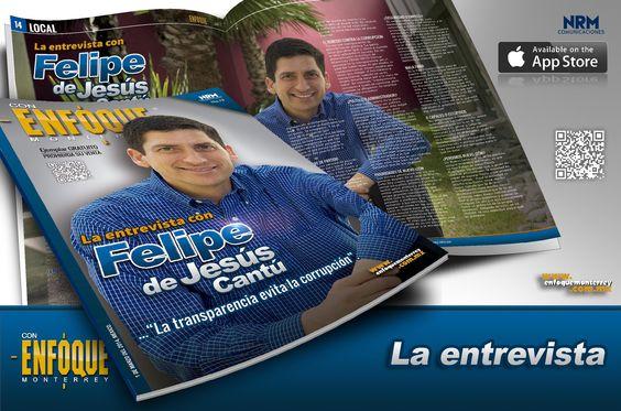 Fotografía y portada para la revista Enfoque