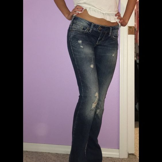 ⚡️SALE⚡️Silver Tuesday jeans! NWT | Silver Boots and Jeans