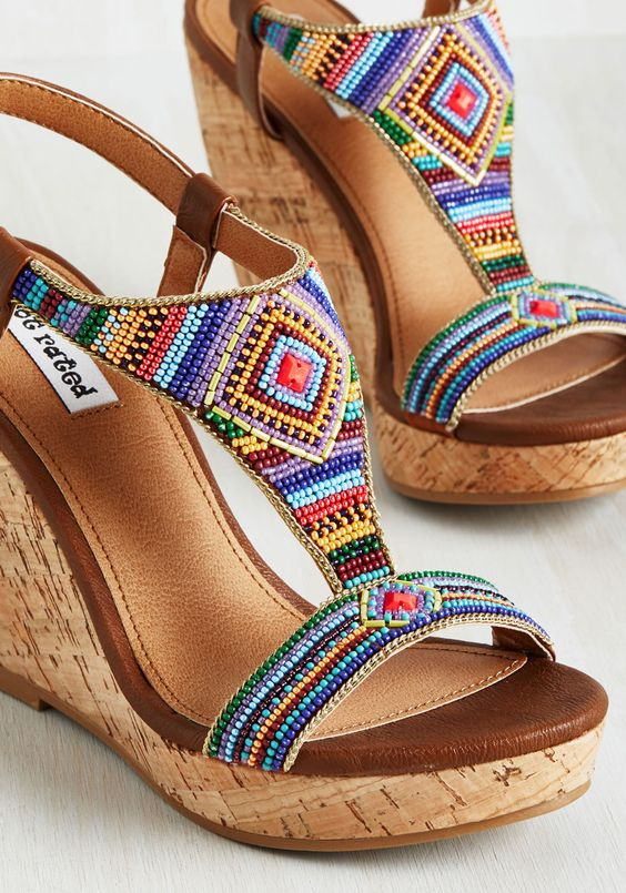 Lovely Summer Colorful Sandals