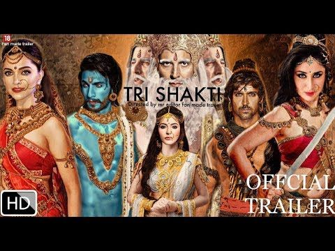 Tri Shakti Movie Trailer Ranveer Singh Hrithik Roshan Deepika Padukone Kareena Kapoor Youtube Hrithik Roshan Ranveer Singh Shakti