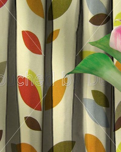 Prestigious Evergreen Olive Oil Curtain