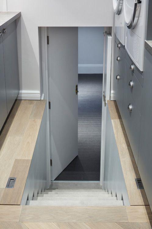 Jigsaw Interior Architecture Poole Dorset Uk Hidden Stairs