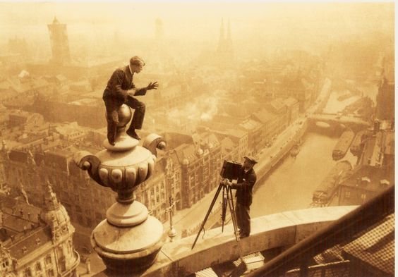 Berlin, Blick vom Dom, um 1927.