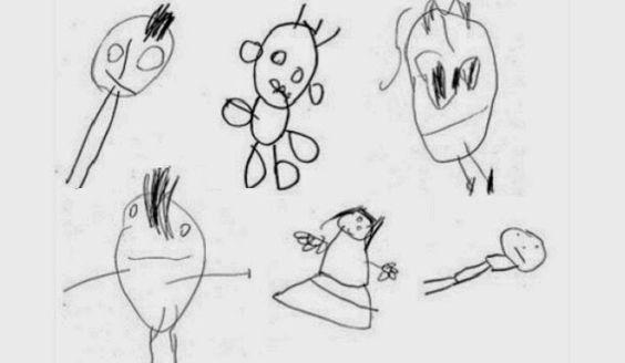 Disso Voce Sabia?: Desenhos das crianças indicam a sua inteligência futura