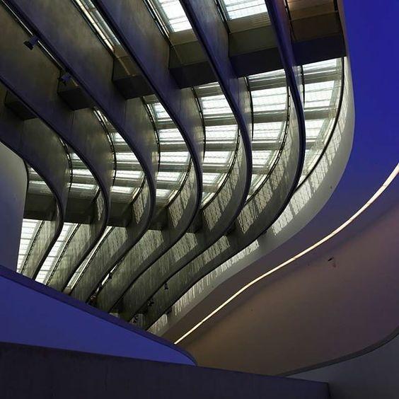 @museomaxxi in #Rome designed by Zaha Hadid for another breathtaking #FendisRome shot by @guglielmo_profeti