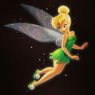 Tinkerbell Disney World Flying