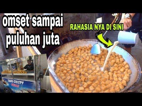 Cara Membuat Tahu Crispy Pedas Di Jual Hanya 500 Rupiah Tapi Omset Puluhan Juta Youtube Resep Makanan Makanan Tahu