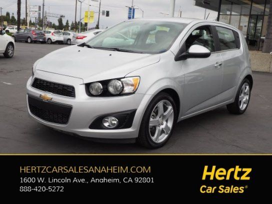 Hatchback 2016 Chevrolet Sonic Ltz Hatchback With 4 Door In