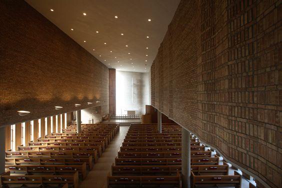 Saarinen Christ Church Lutheran -  Minneapolis 1949