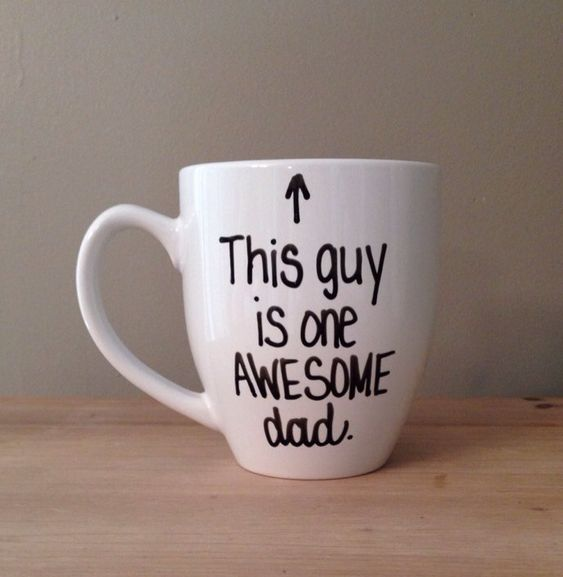 This guy is one awesome dad mug mug for dad by simplymadegreetings, $15.00: