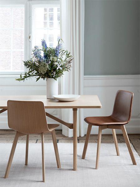 Chaise Pato Wood Base De Fredericia Interieur Scandinave Chaise Design Design D Interieur Suedois