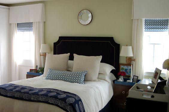 alamode: DIY Upholstered Headboard- 12 Devonshire