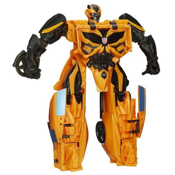 Boneco Transformers 4 One Step Bumblebee Mega - Hasbro