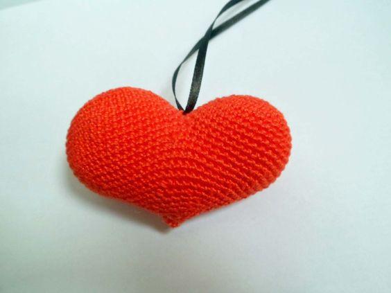 Corazón de crochet http://pontecraft.artesanum.com