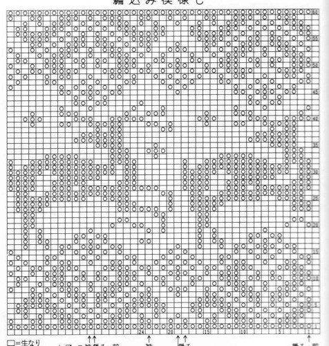 """5. ЖАККАРДОВЫЕ УЗОРЫ. Общая копилка! - h-BNLgoIPn4 - Страна вязания """"Ярния"""""""