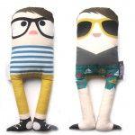 Plush dolls with attitudes!