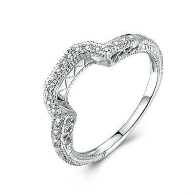 10k White Gold Anniversary Jewelry Gift 0 15ct Natural Si2 H Diamonds Band Ring Ebay In 2020 Fashion Rings Silver Diamond Engagement Band Diamond Rings With Price