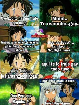 Inuyasha Memes 3 C Finalizada Inuyasha Gracioso Memes De Anime Meme De Anime