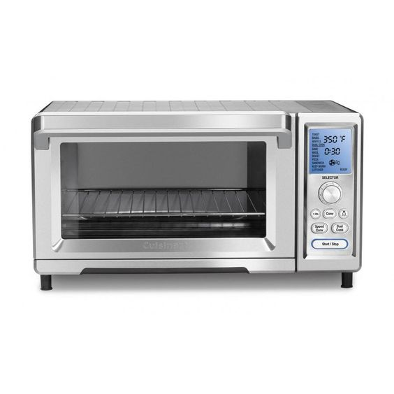 Cuisinart TOB-260 Chef's Convection Toaster Oven, Silver