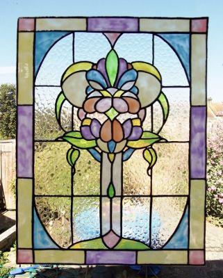 Victorian Pastel Panel by KAYDEE'S KREATIONS
