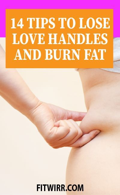14 best tips to lose love handles and burn belly fat fast for women. #loselovehandles #burnbellyfat #lovehandleworkout
