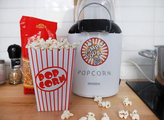 Popcorn selbstgemacht Popcornmaker popcornmais chiliepopcorn popcornmaschine www.sprinzeminze.com