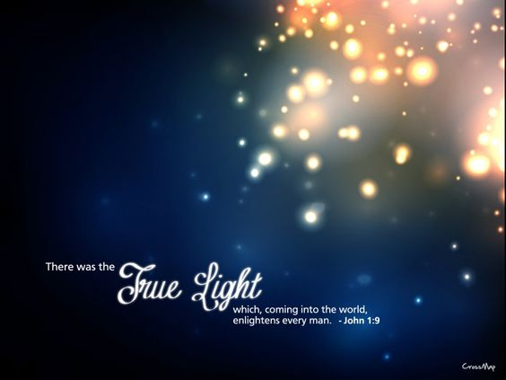 The true light of the season, isn't wrapped around our trees the true light of the season isn't hanging from our eaves. The true light of the season, isn't put up, only once a year the true light o...