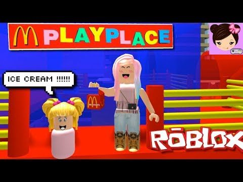 Fun Day In Mcdonaldsville With Baby Goldie Roblox Roleplay Mc