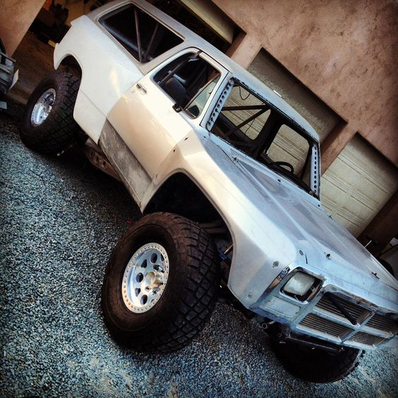 Ram Stein Mark Newhan S Dodge Ramcharger Prerunner Diesel Trucks Lifted Trucks Dodge Ramcharger